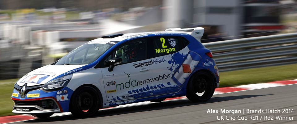 Alex Morgan, Clio Cup UK, Brands Hatch 2014