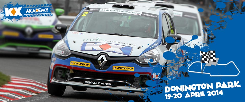 Alex Morgan, Clio Cup UK 2014, Brands Hatch, Double Winner